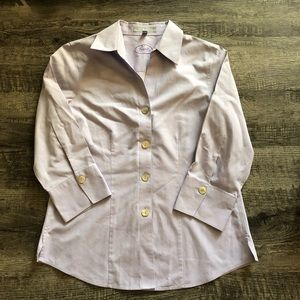Lavender Foxcroft dress shirt